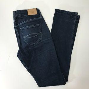 Abercrombie & Fitch Dark Wash Skinny Jeans Size 0R